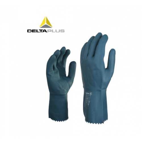 代尔塔 ve530 201530 氯丁橡胶乳胶手套 防化 劳保手套