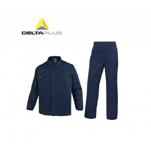 代尔塔405168全棉防静电工作服套装 代尔塔一级代理 l