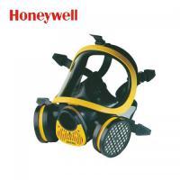 霍尼韦尔EPDM系列1710641 黄色进口双滤盒防烟防尘综合防毒面具